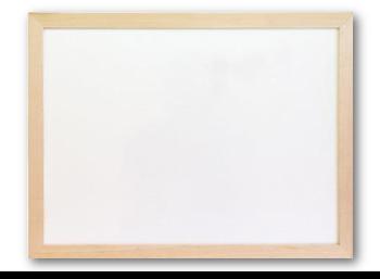 Tablice magnetyczne suchościeralne w ramie drewnianej